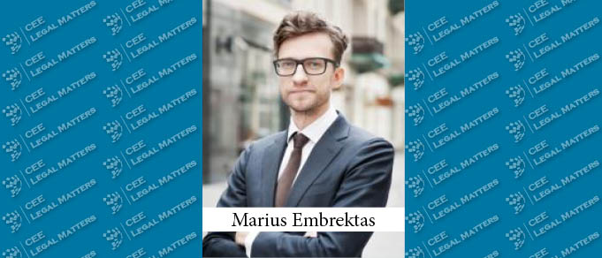 Marius Embrektas Becomes Ninth Partner at Glimstedt