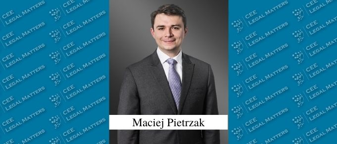 Maciej Pietrzak Makes Local Partner at Greenberg Traurig in Warsaw