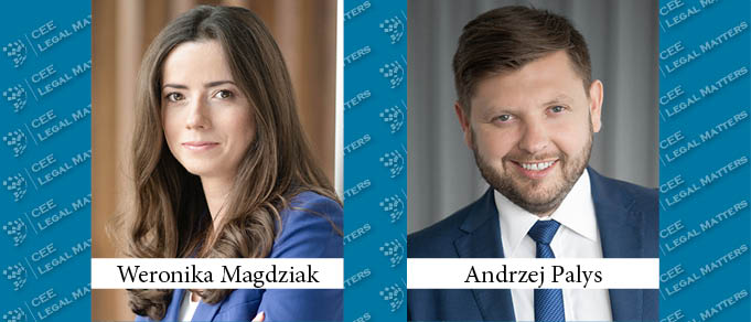 Weronika Magdziak and Andrzej Palys Promoted to Partner at Kochanski & Partners