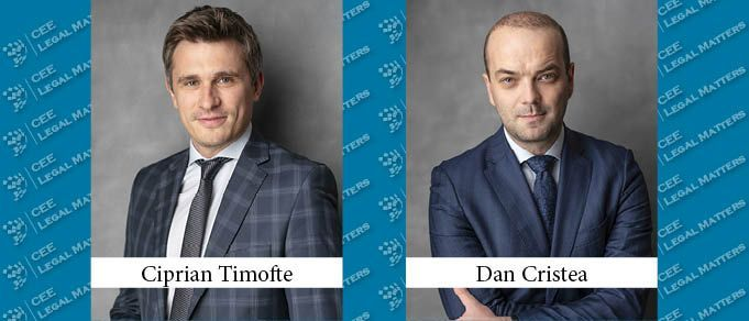 Dan Cristea and Ciprian Timofte Promoted to Partner at Tuca Zbarcea & Associatii
