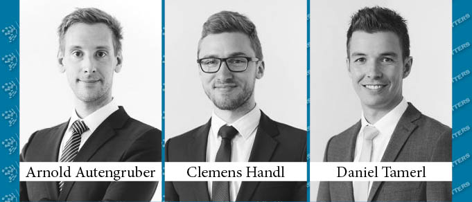 Arnold Autengruber, Clemens Handl, and Daniel Tamerl Make Partner at CHG Czernich