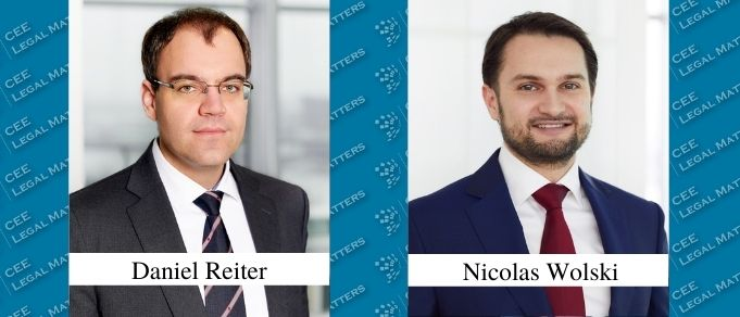 Daniel Reiter and Nicolas Wolski Promoted to Partner at BPV Huegel