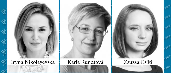 Zsuzsa Csiki, Iryna Nikolayevska, and Karla Rundtova Promoted to Partner at Kinstellar