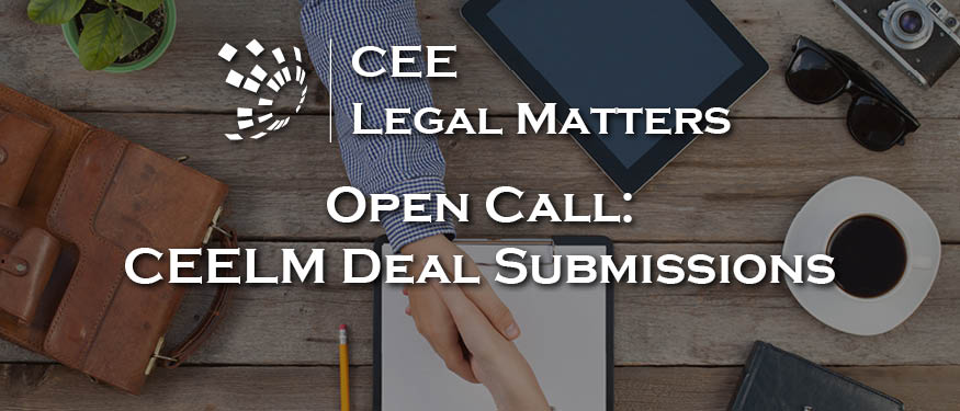 CEE Legal Matters Deal of the Year Award