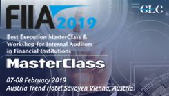 FIIA 2019 – Best Execution MasterClass & Workshop for Internal Auditors in Financial Institutions