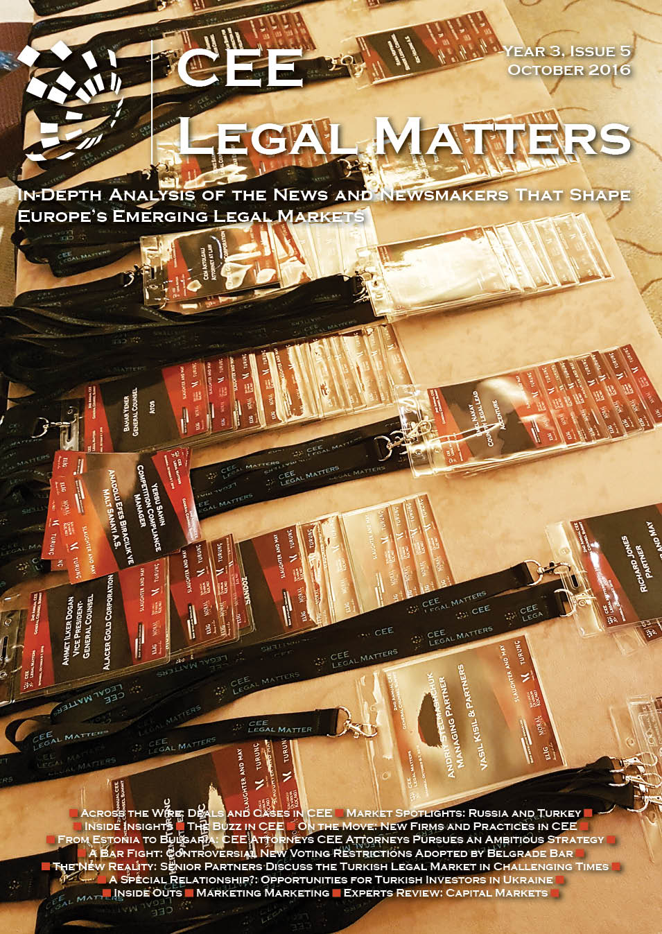 CEE Legal Matters: Issue 3.5.