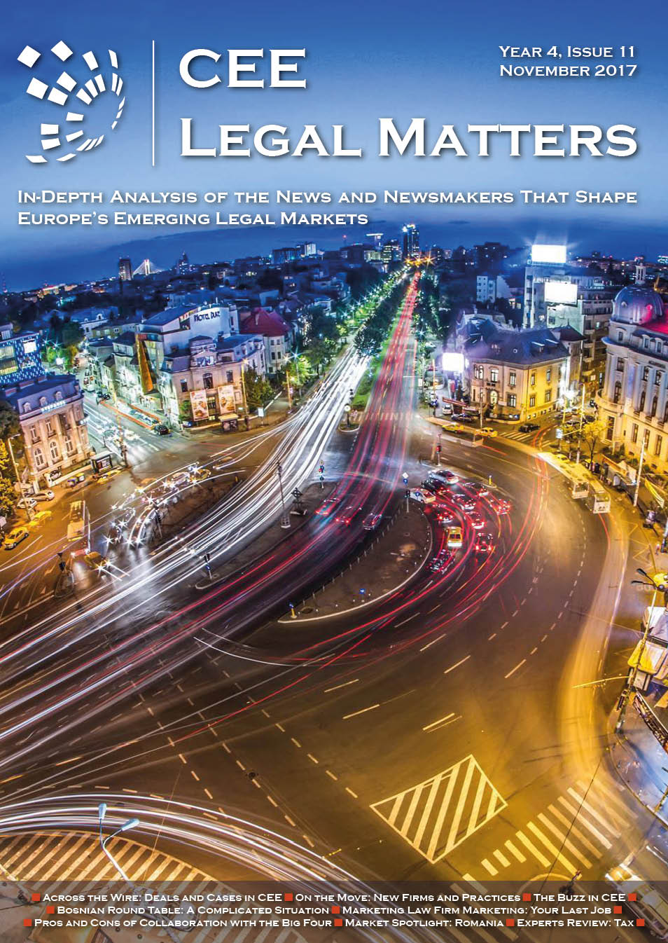 CEE Legal Matters: Issue 4.11.