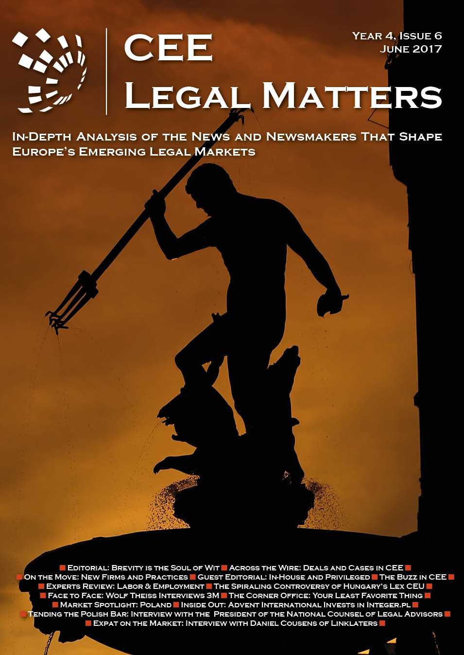 CEE Legal Matters: Issue 4.6.