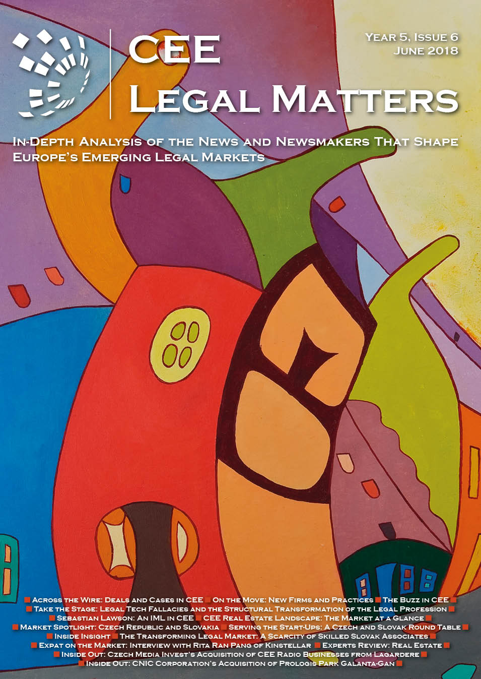 CEE Legal Matters: Issue 5.6.